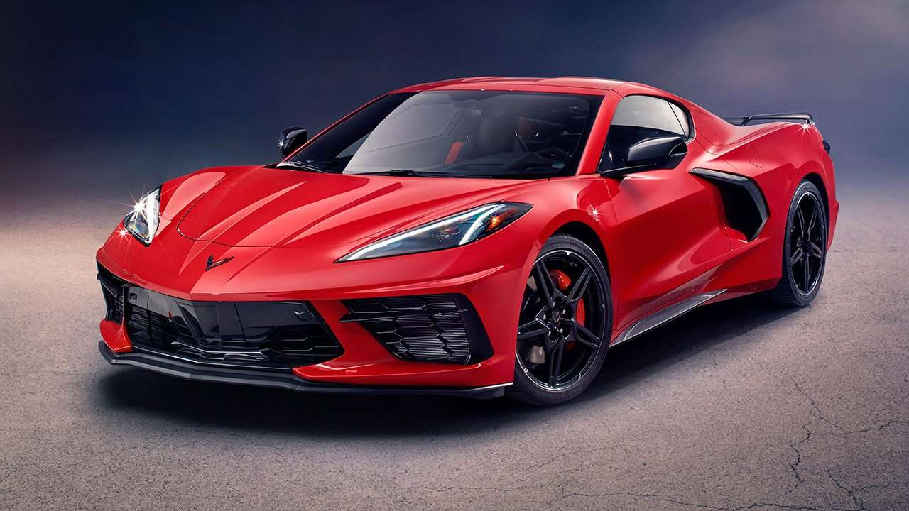Chevrolet Corvette Stingray C7 2016 фото спереди