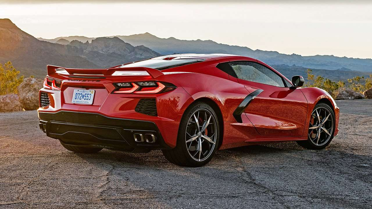 салон Chevrolet Corvette Stingray C7 2016