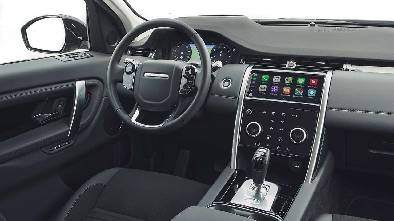 Land Rover Discovery Sport 2016-2017 люк