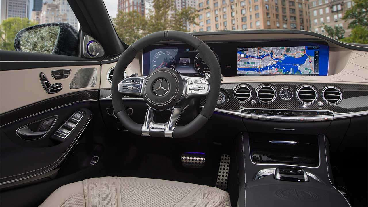 Mercedes-Benz S63 AMG W222 2016 салон