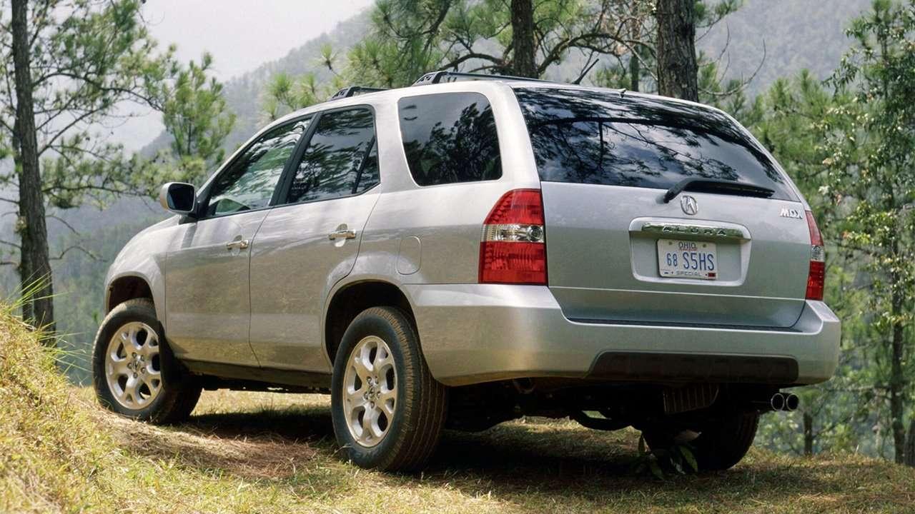 Acura MDX YD1 фото сзади