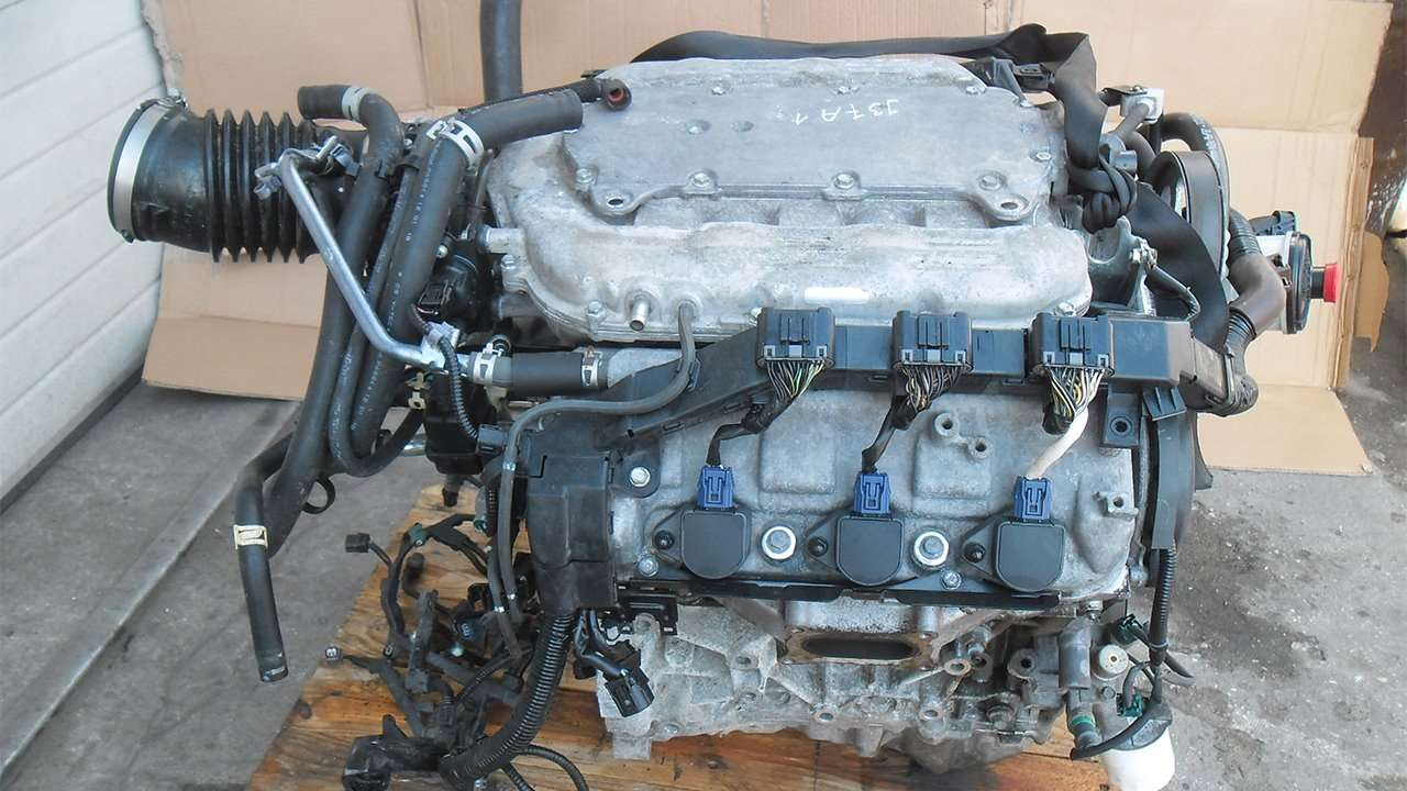 Мотор первого поколения Acura MDX