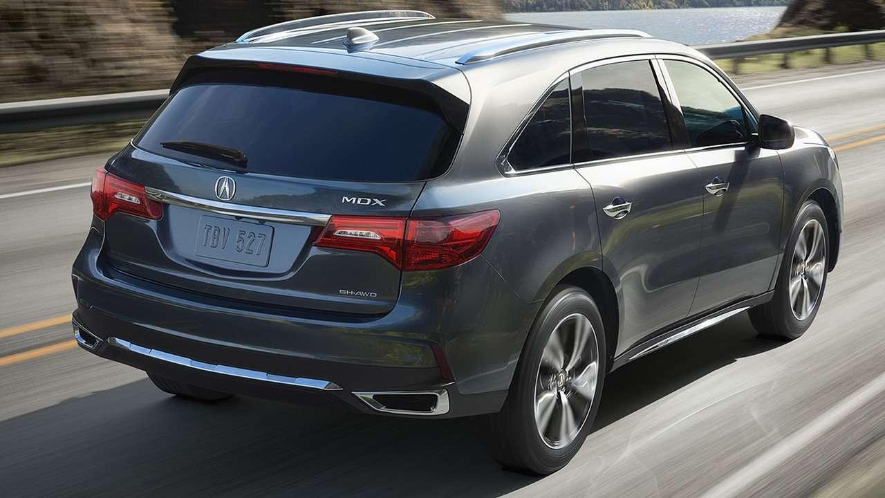 Acura MDX фото сзади