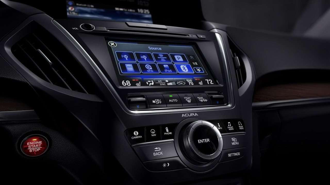 Acura MDX интерьер