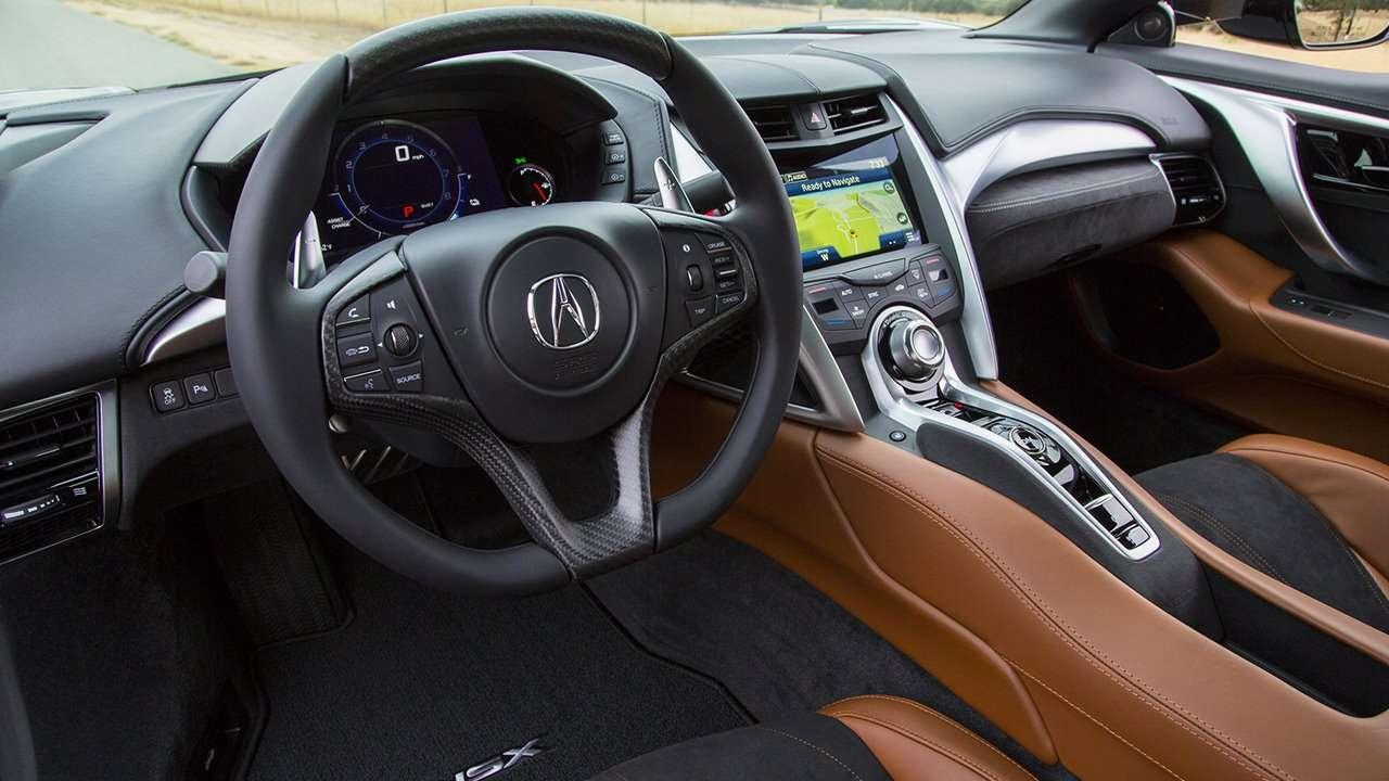 Acura NSX 2020-2021 салон