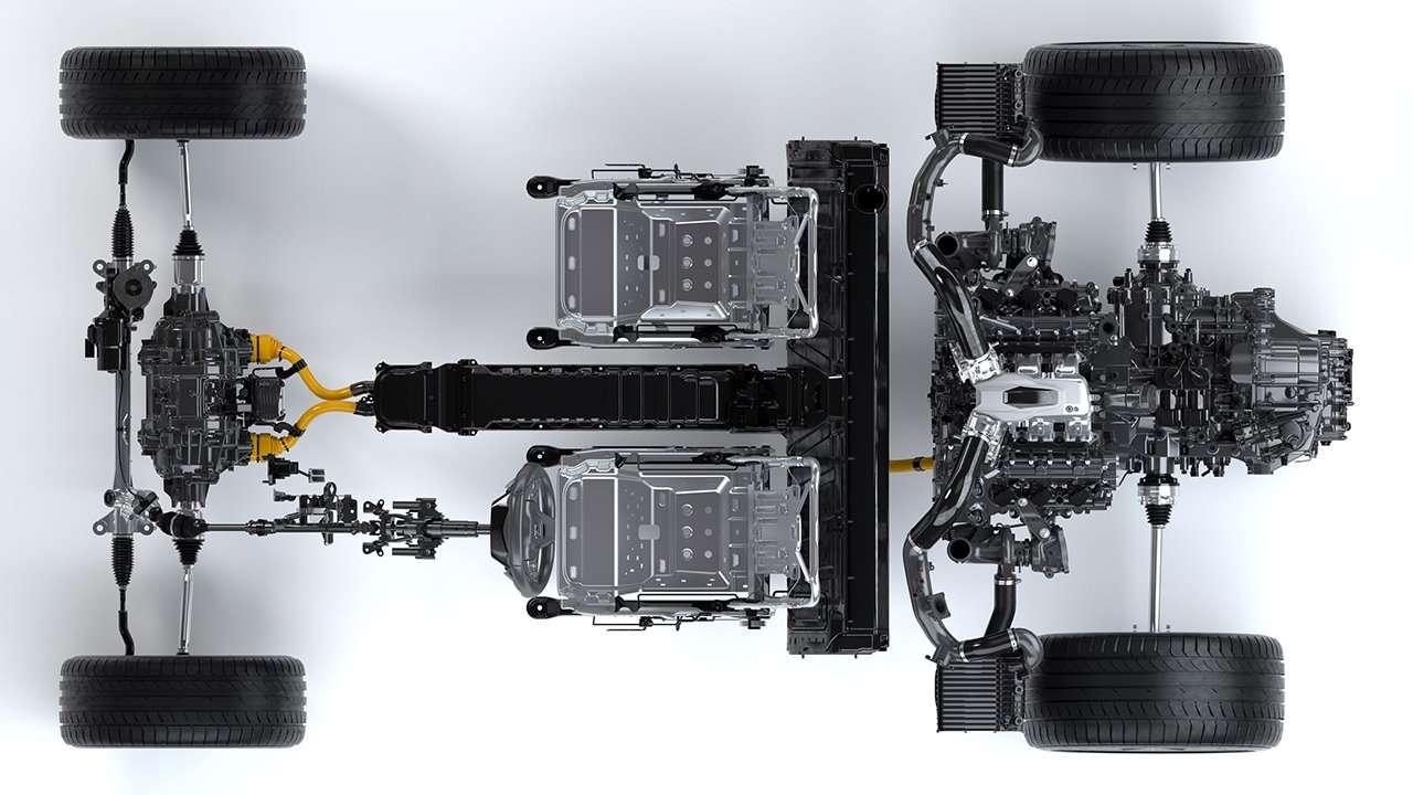 Акура НСХ 2020-2021 фото подвески