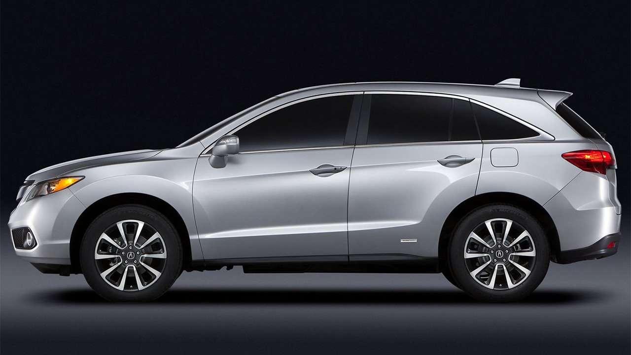 Acura RDX 2014 фото сбоку