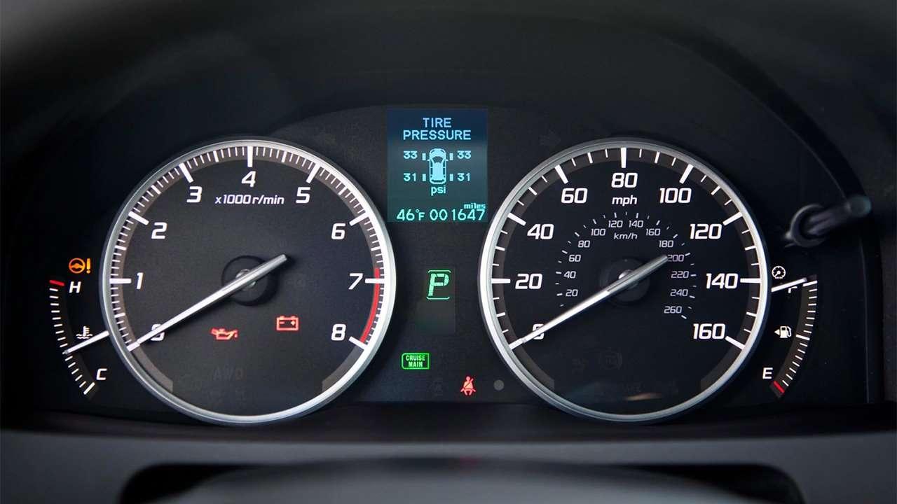 Панель приборов Acura RDX 2014