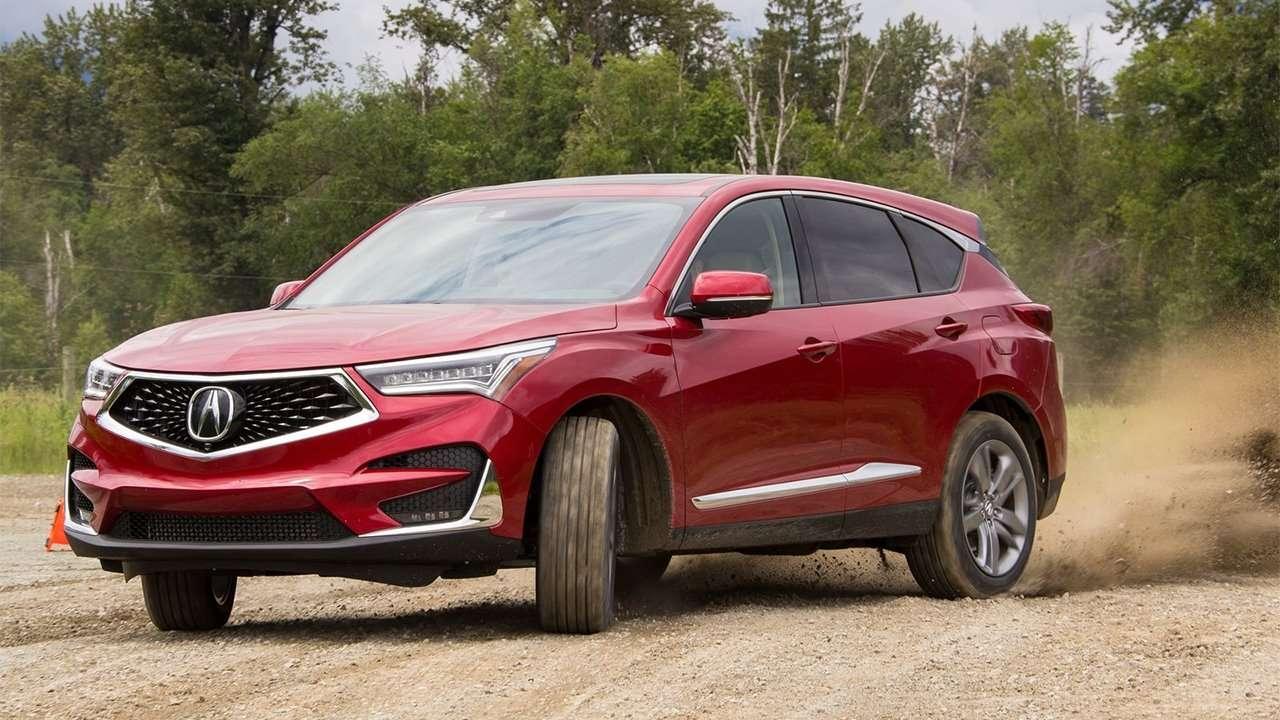 Красный Acura RDX 2020-2021