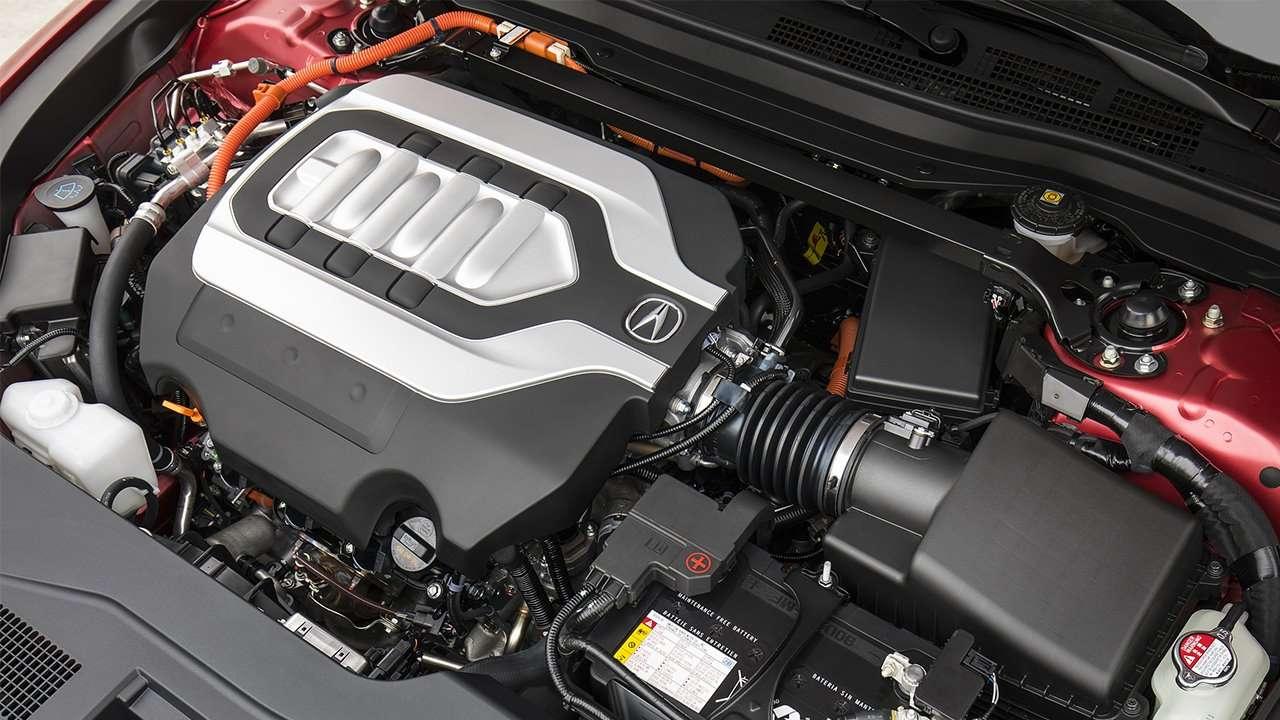 Двигатель новой Acura RLX