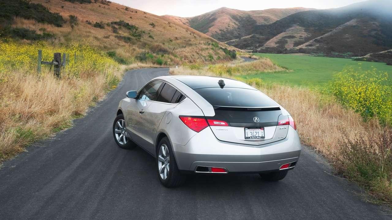 Acura ZDX фото сзади