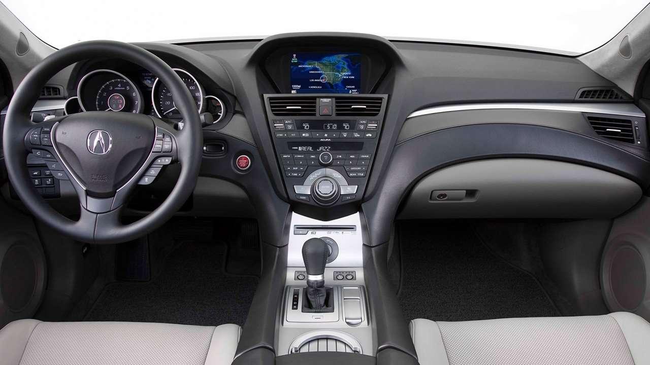 Салон Acura ZDX