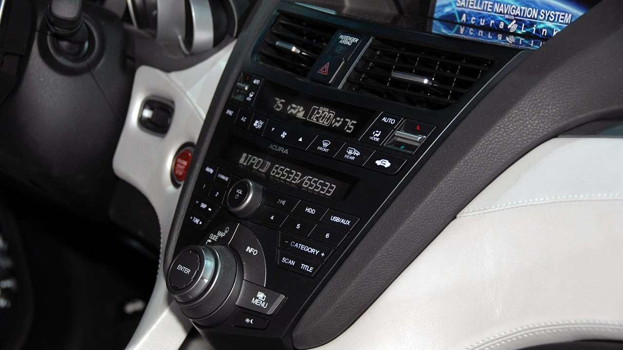 Центральная консоль Acura ZDX