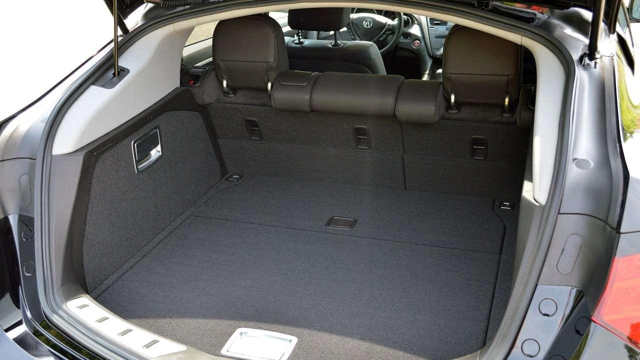 Багажное отделение Acura ZDX