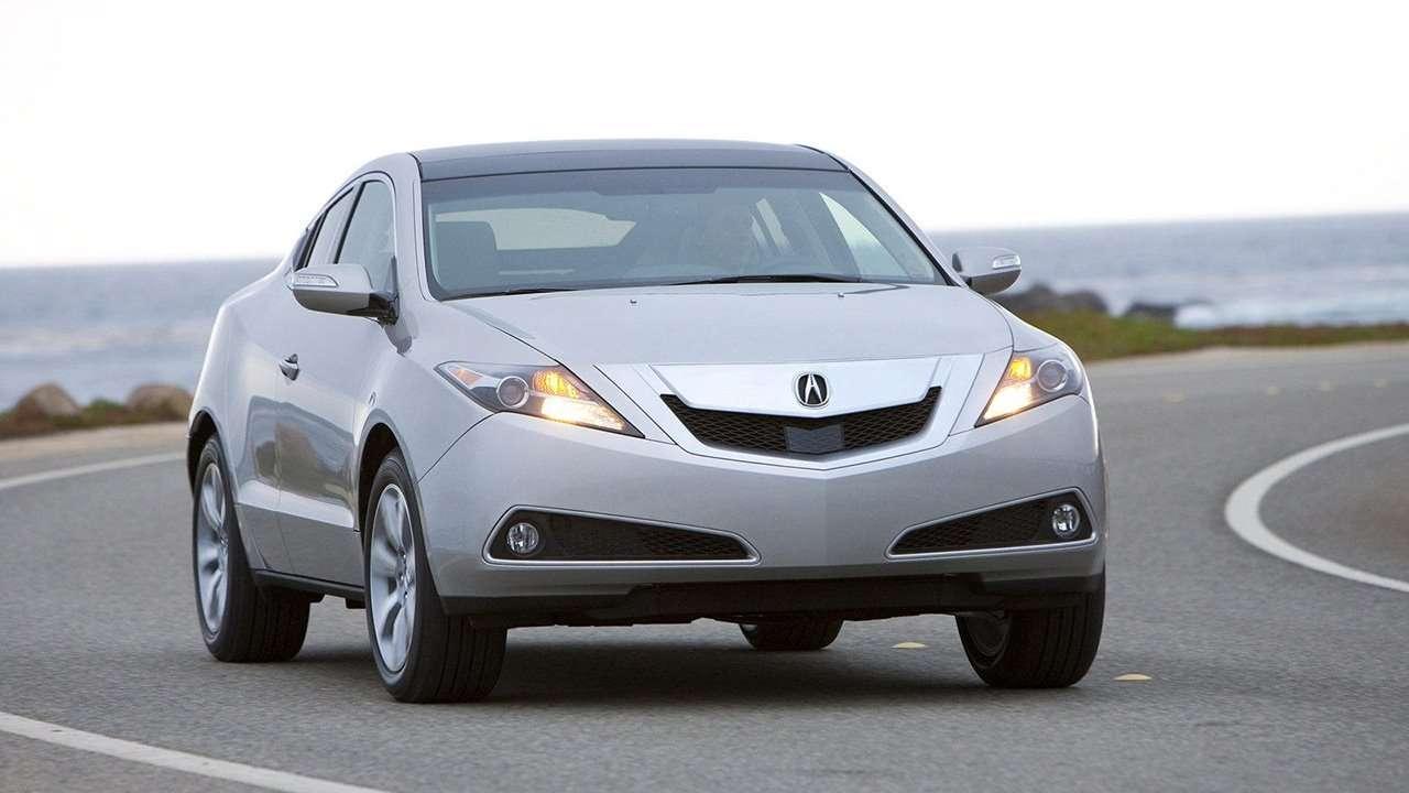 Вид передней части Acura ZDX