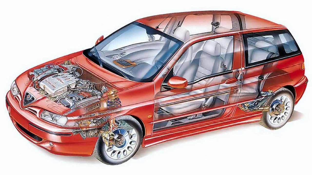 Подвеска Alfa Romeo 145