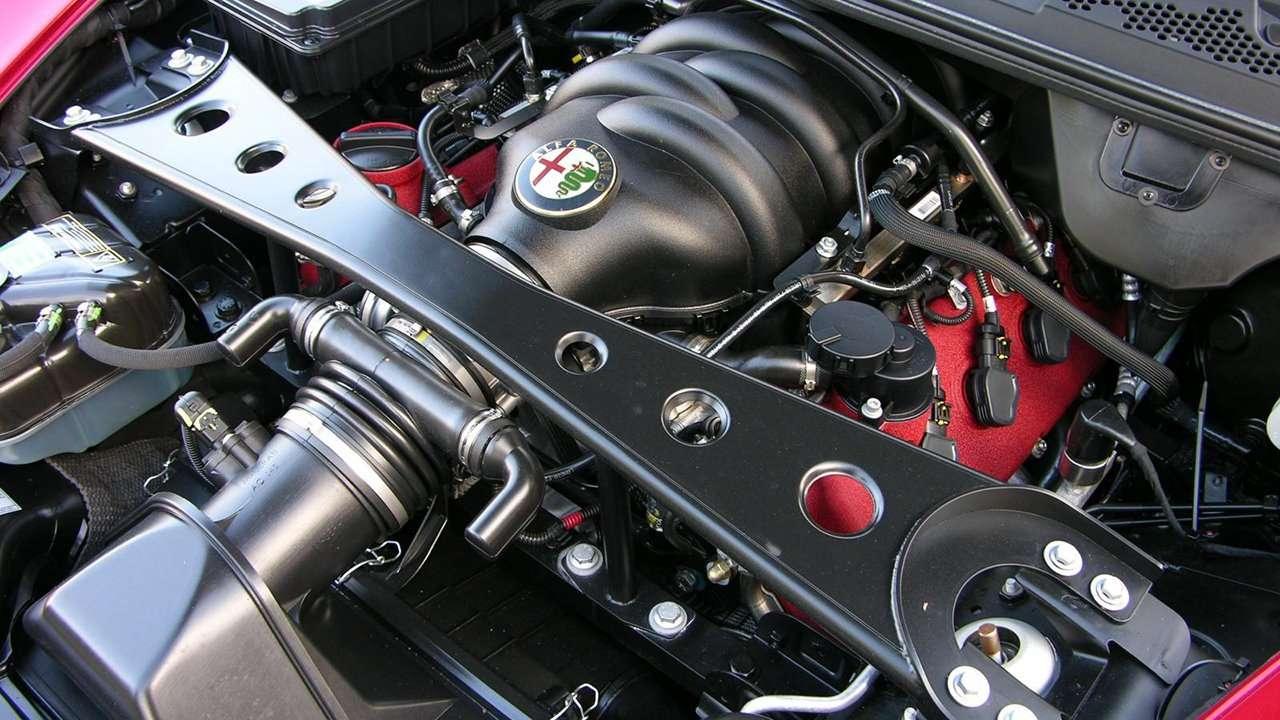 Двигатель Alfa Romeo 8C Competizione