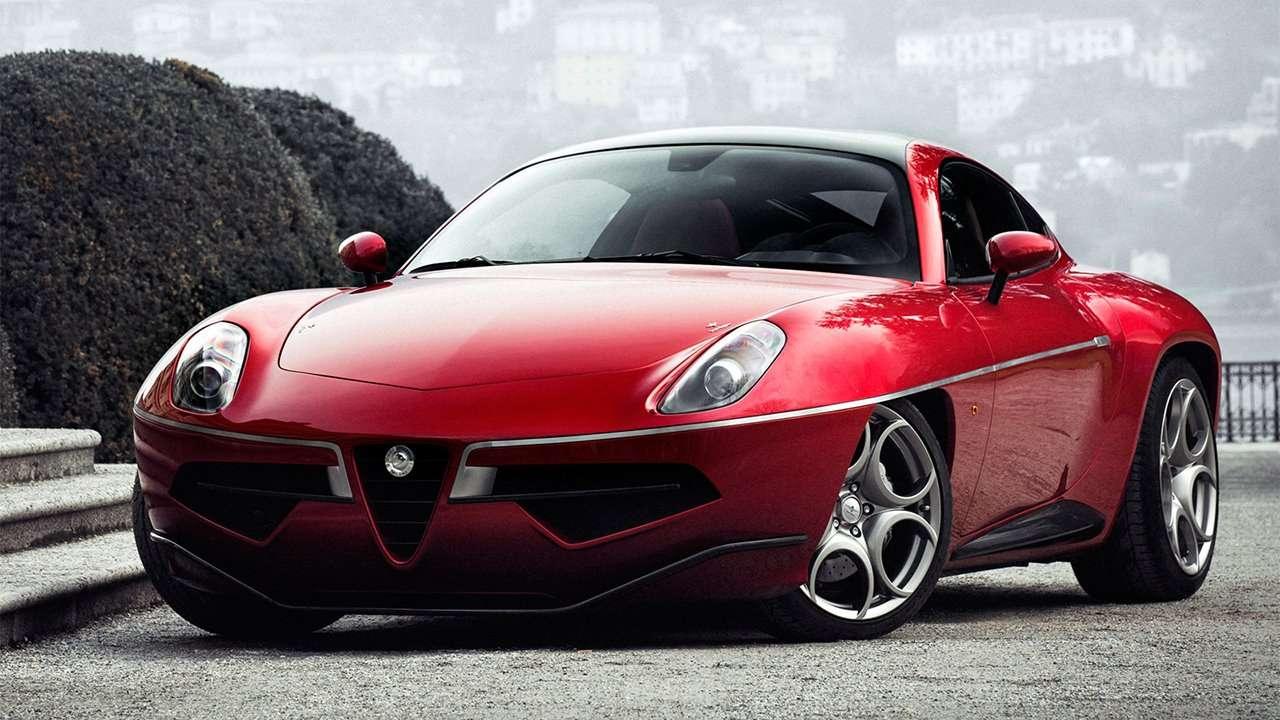 Alfa Romeo Disco Volante фото спереди