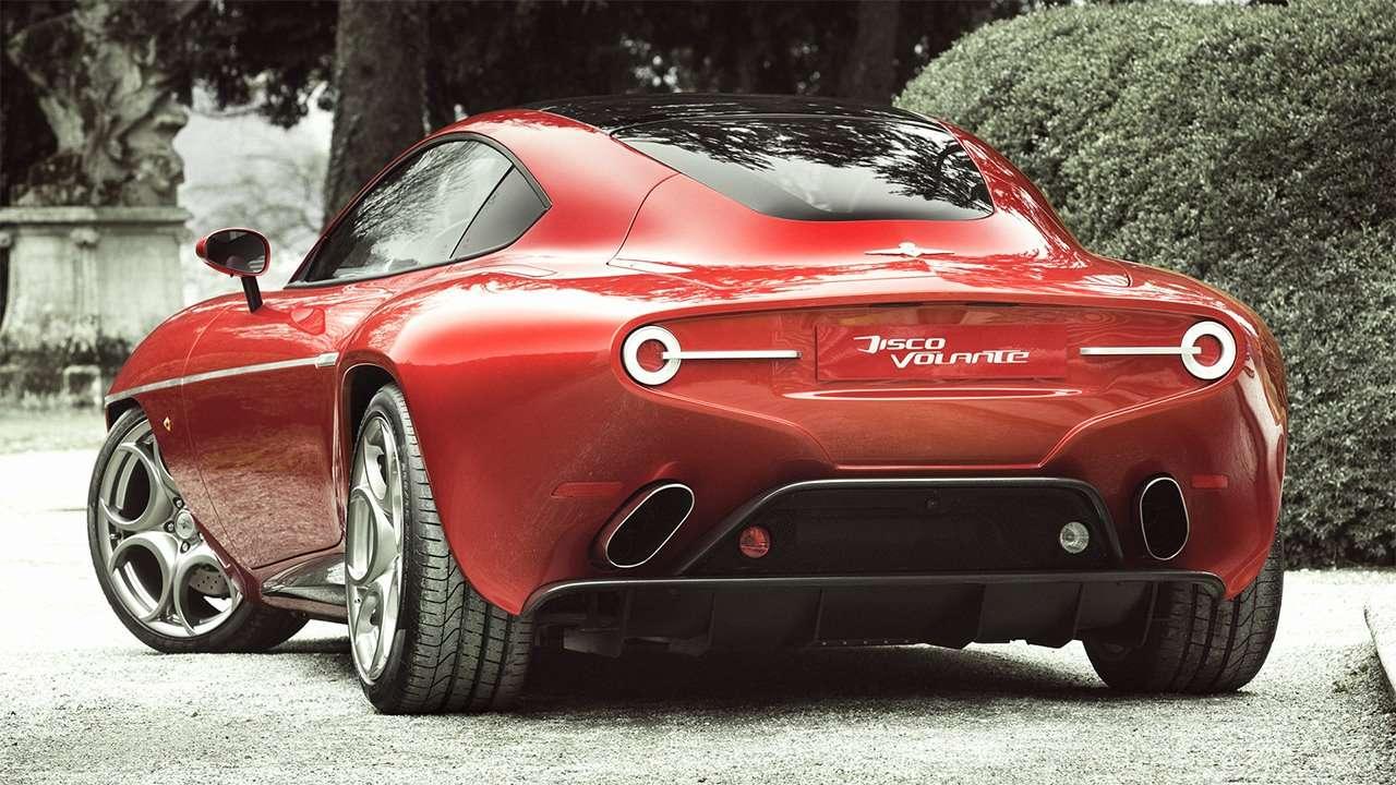 Alfa Romeo Disco Volante фото сзади