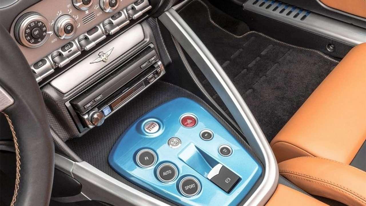 Интерьер Alfa Romeo Disco Volante