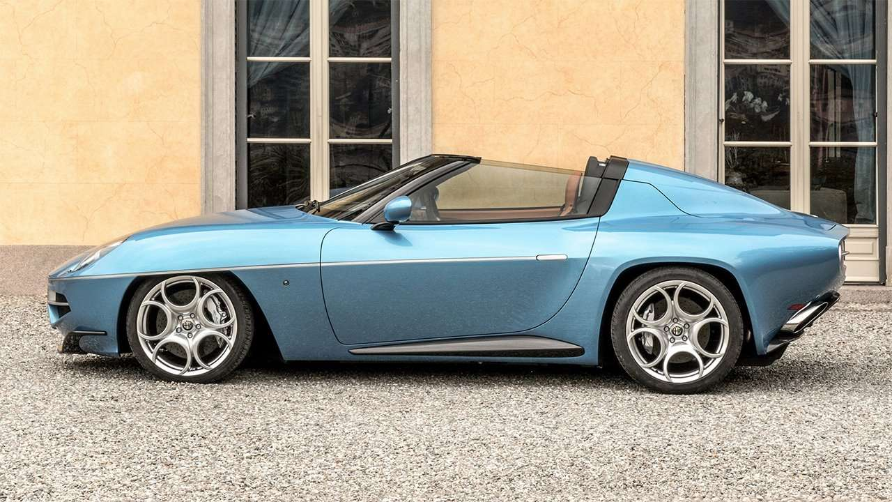 Alfa Romeo Disco Volante Spyder фото сбоку