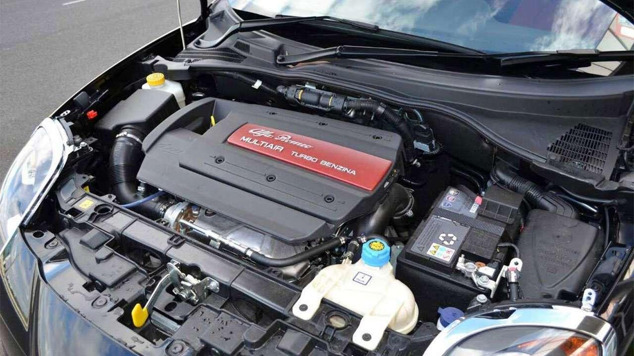 Фото двигателя Alfa Romeo Mito