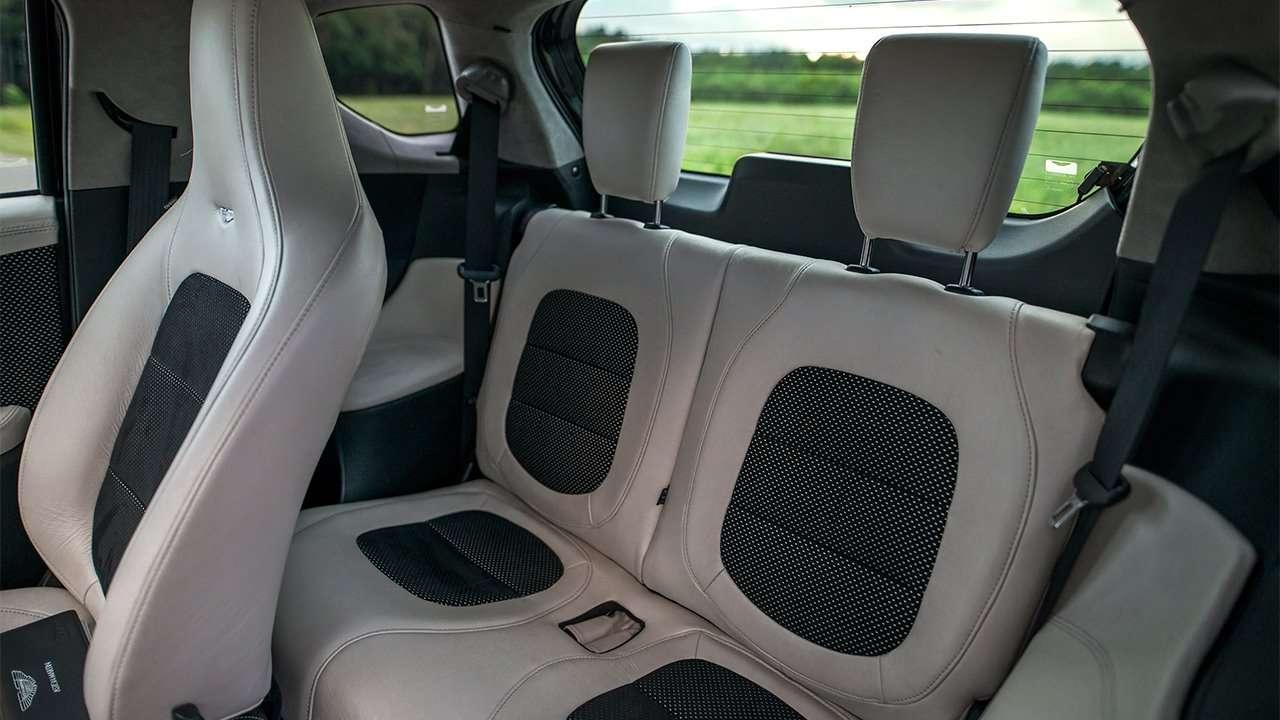 Задние сиденья Aston Martin Cygnet
