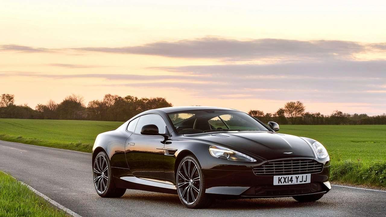 Aston Martin DB9 фото спереди