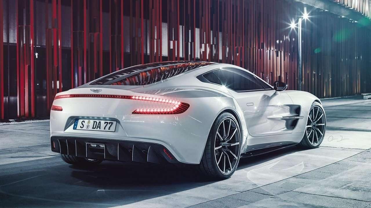 Aston Martin One-77 фото сзади