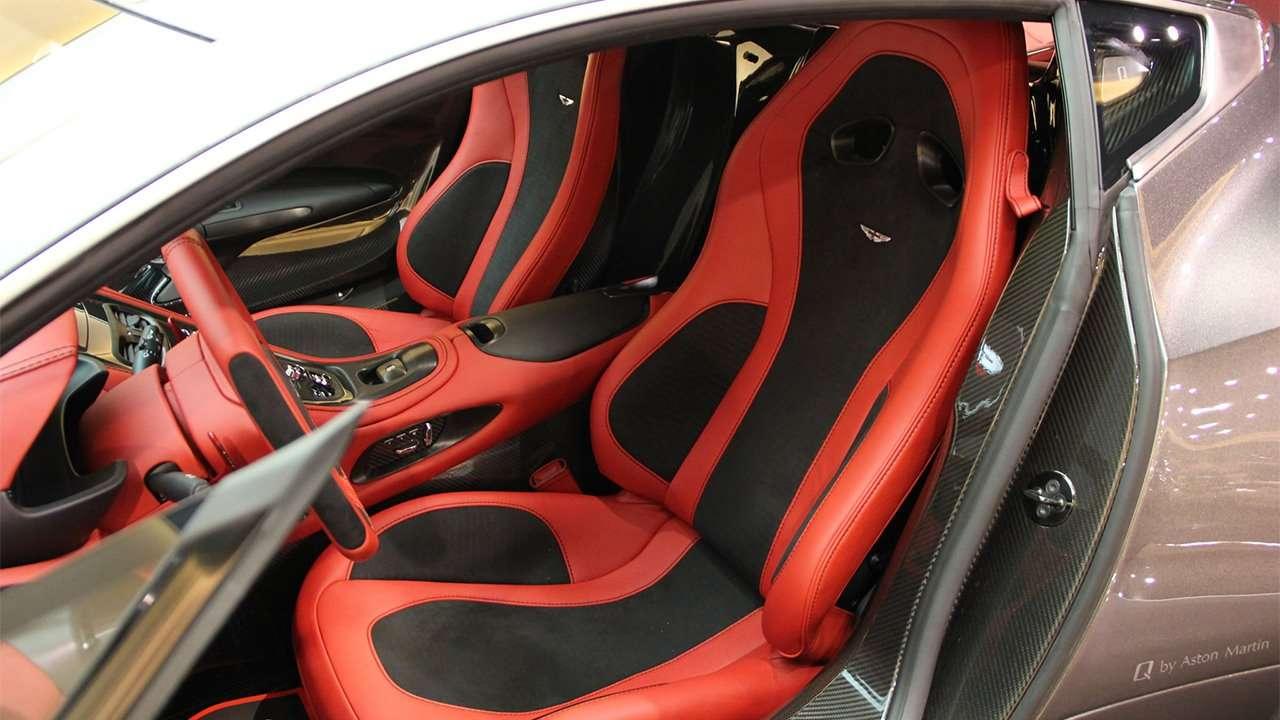Сиденья Aston Martin One-77