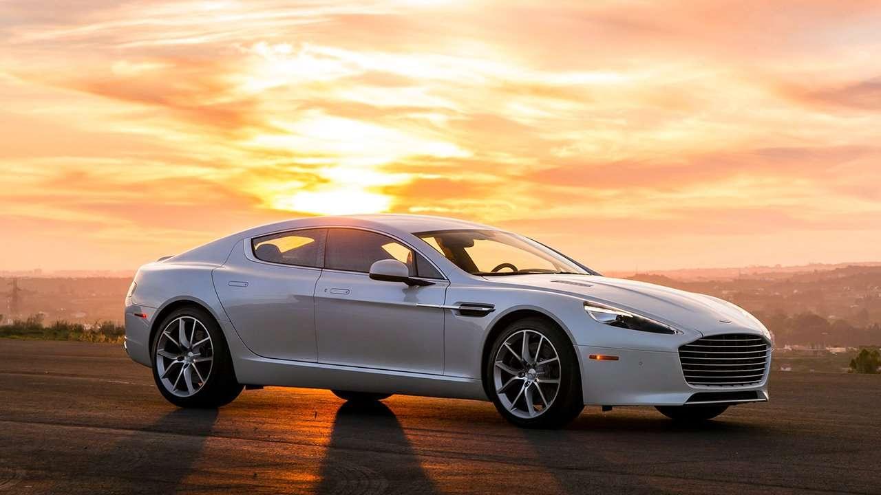 Aston Martin Rapide S 2016 фото спереди