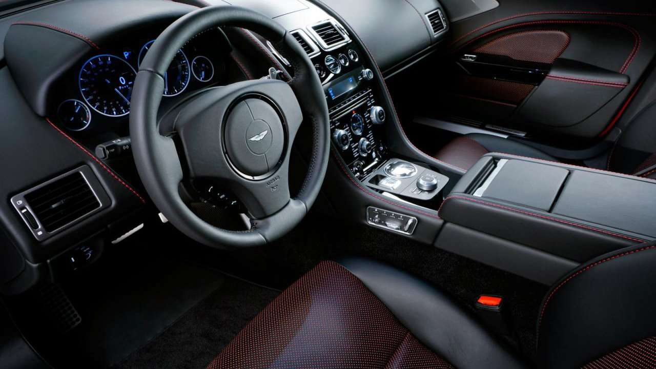 Aston Martin Rapide S 2016 фото салона