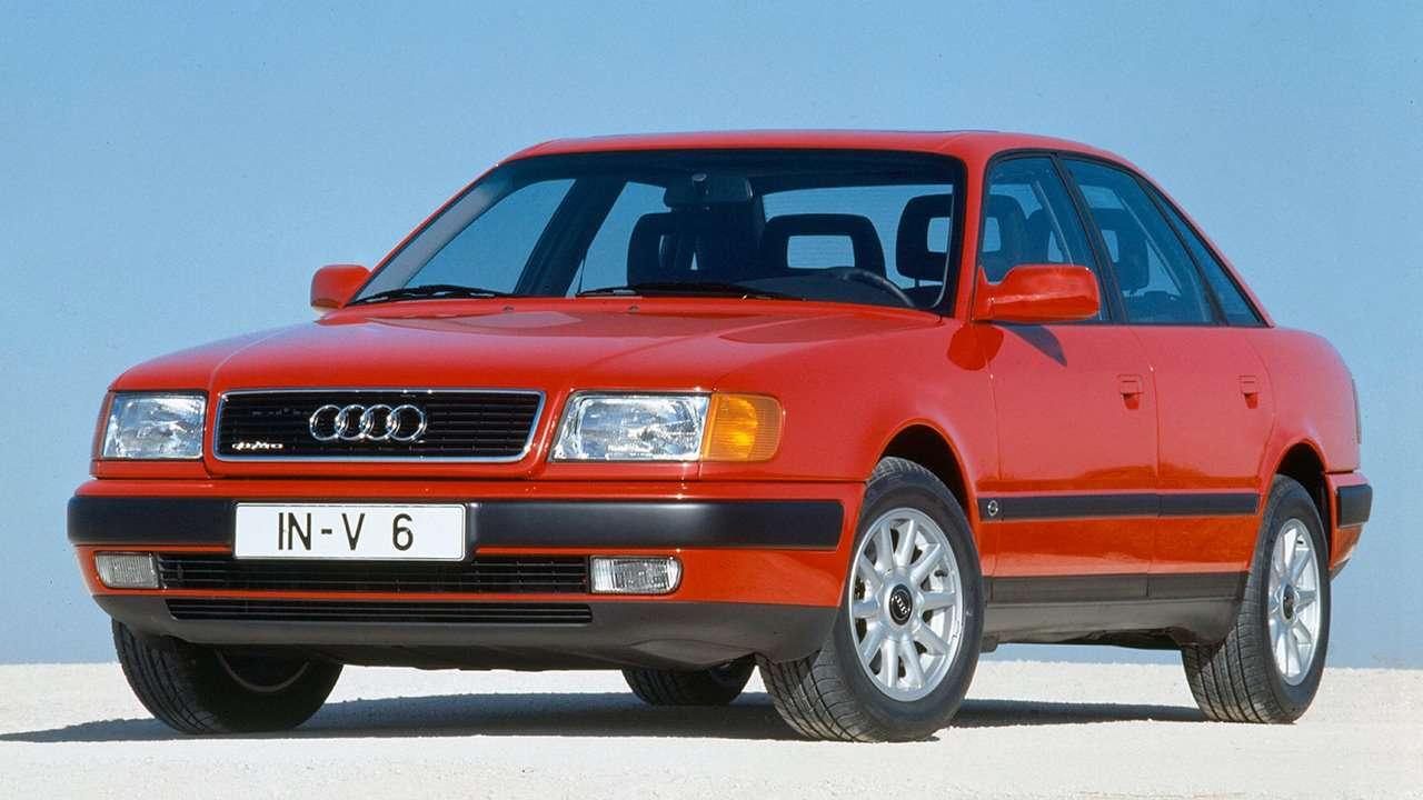 Audi 100 C4 фото спереди