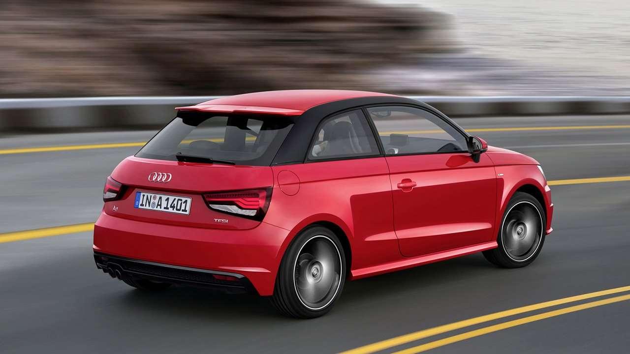 Audi A1 Sportback 2014-2017 фото сзади