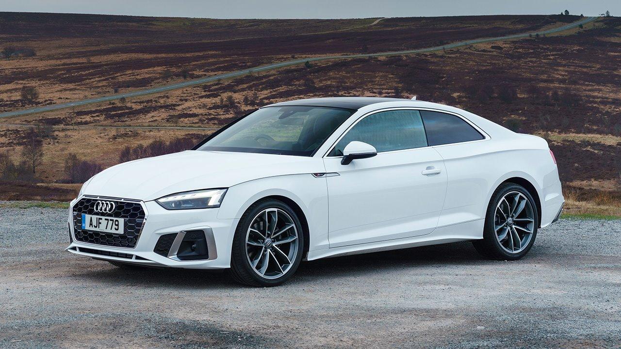 Audi A5 2020-2021 фото спереди