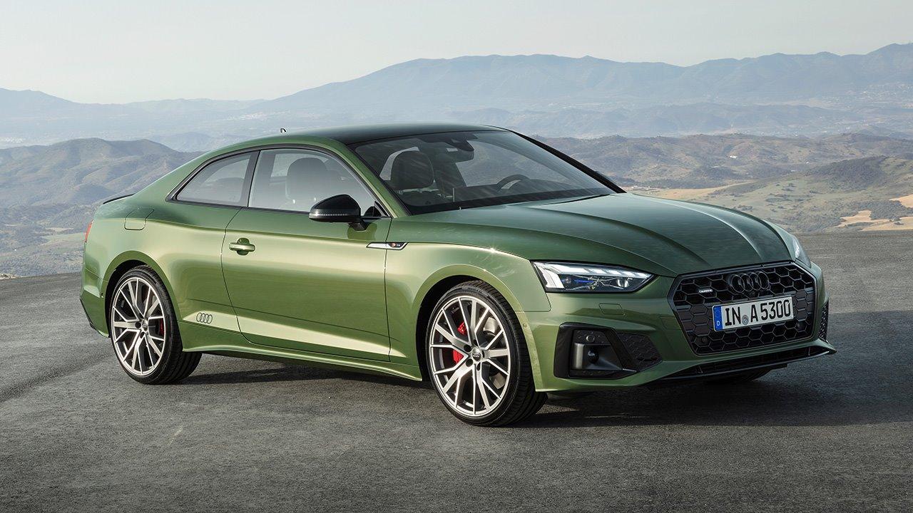 Фото Audi A5 2020-2021 спереди