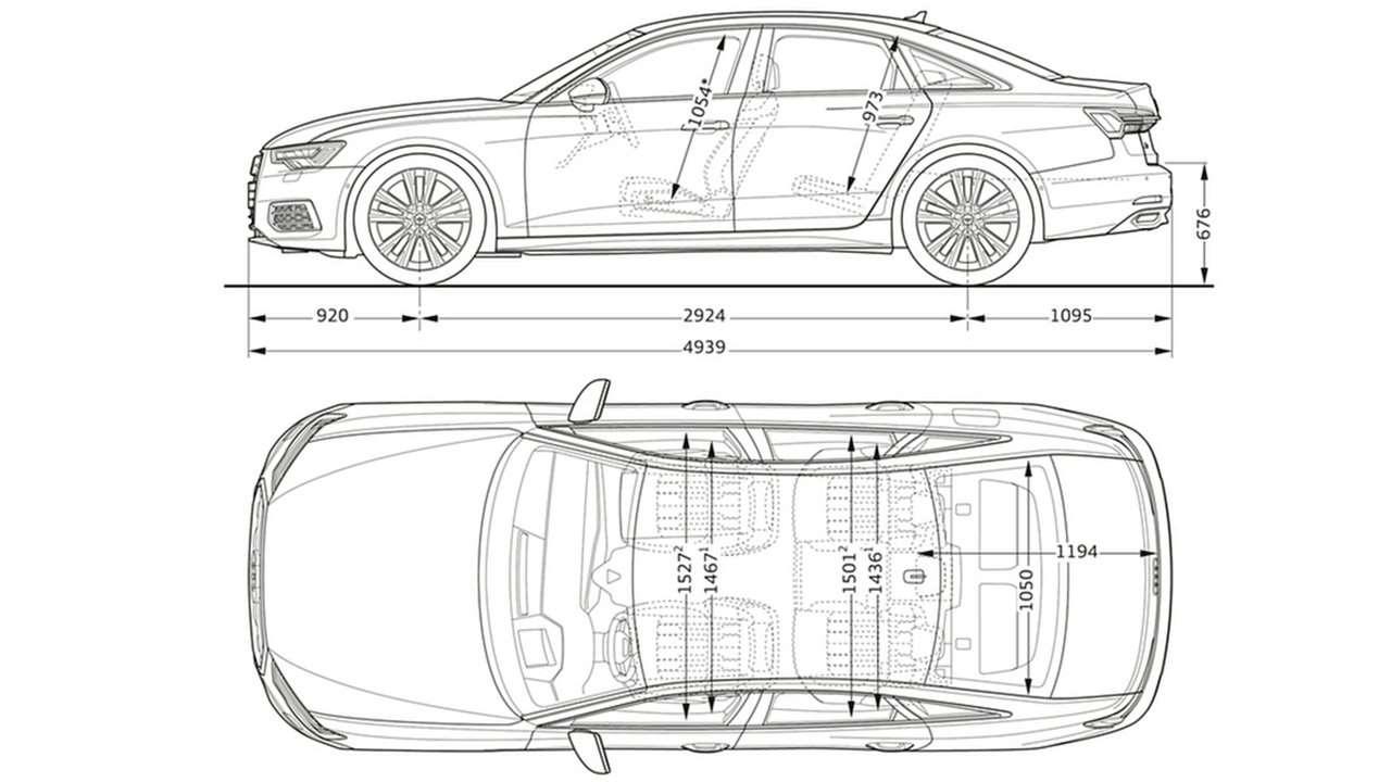 Размеры автомобиля и салона