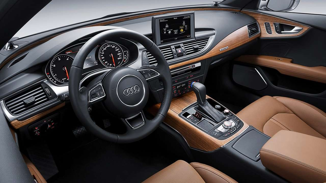 Audi A7 2014-2017 салон