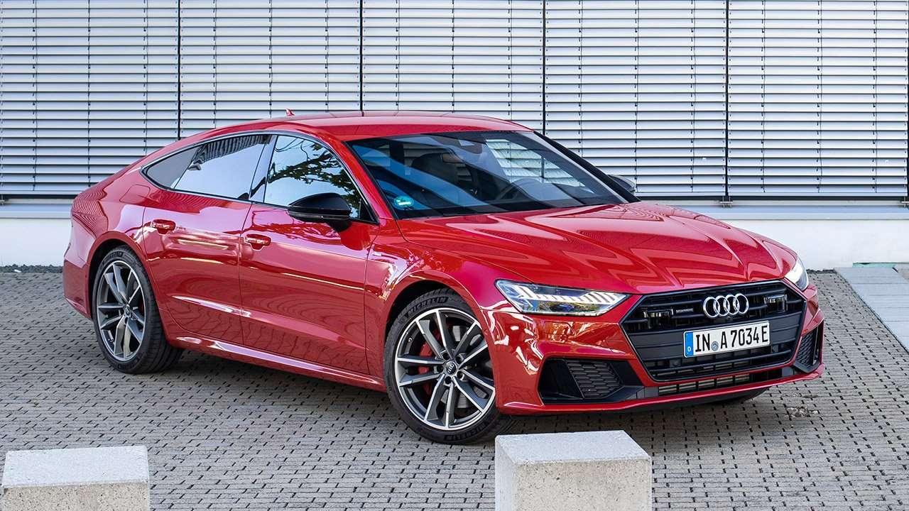 Audi A7 Sportback 2019-2020 фото спереди