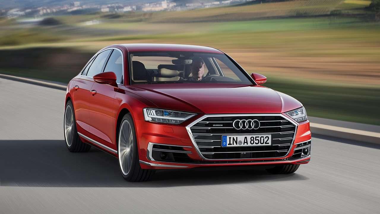 Audi A8 D5 2019-2020 фото спереди