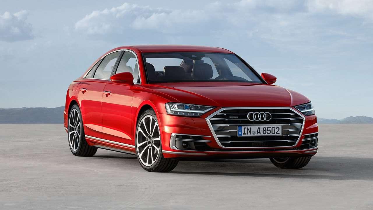 Передняя часть Audi A8 D5 2019-2020