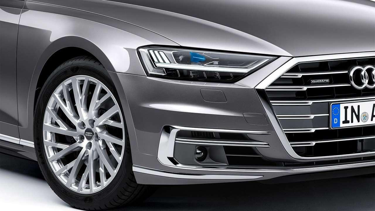 Передняя оптика Audi A8 D5 2019-2020