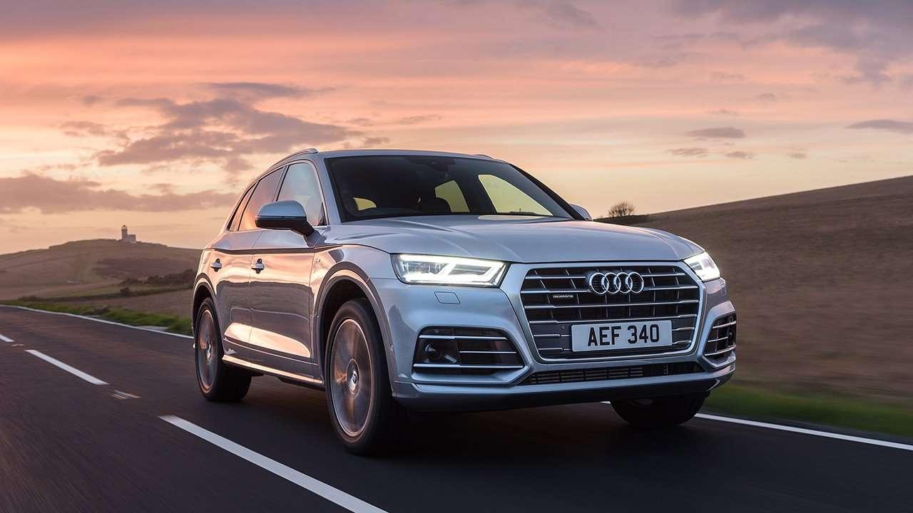 Audi Q5 2020-2021 фото передней части