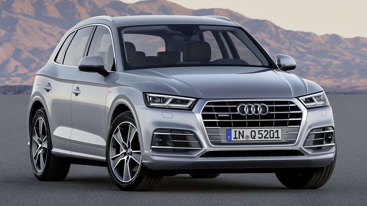 Передняя часть Audi Q5 2020-2021