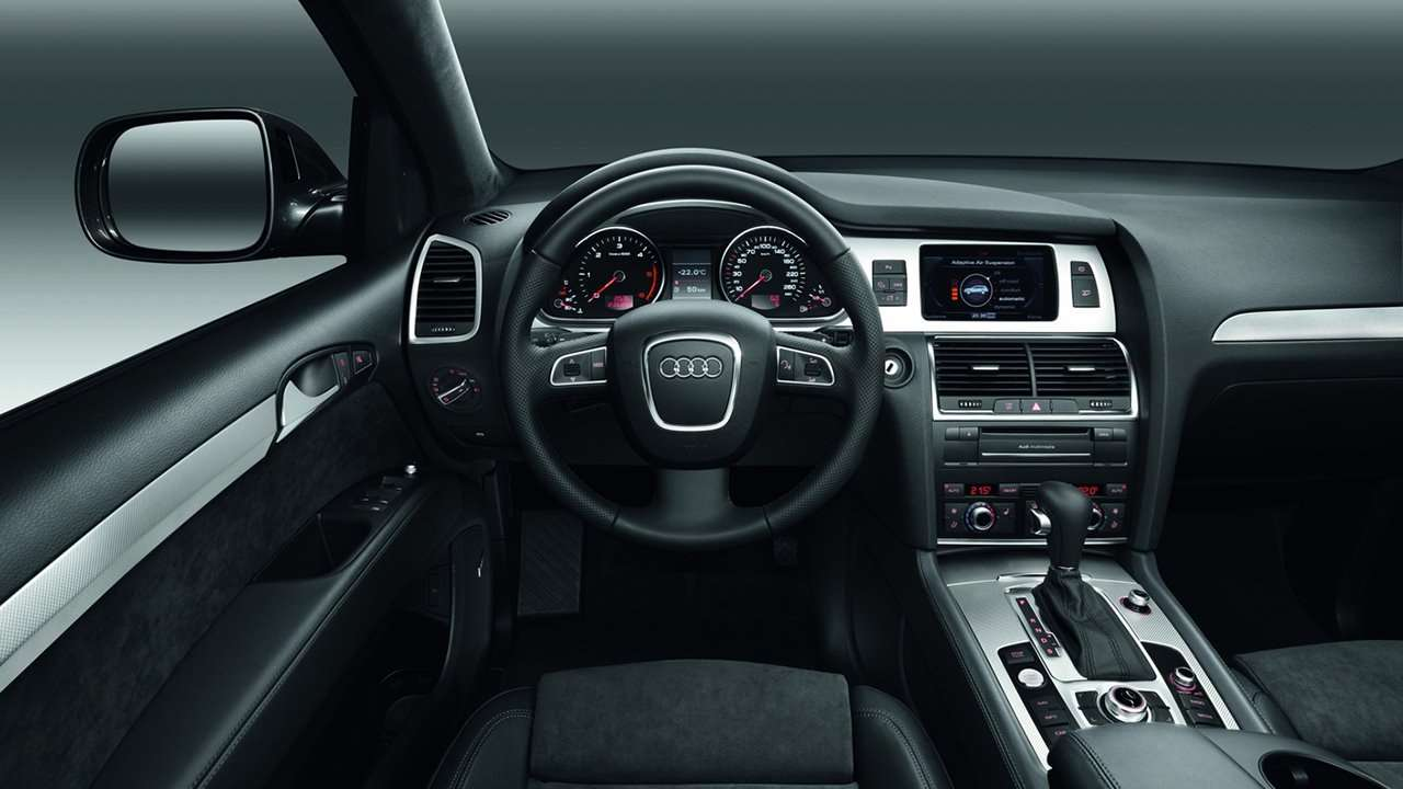 Audi Q7 (2007-2015) салон