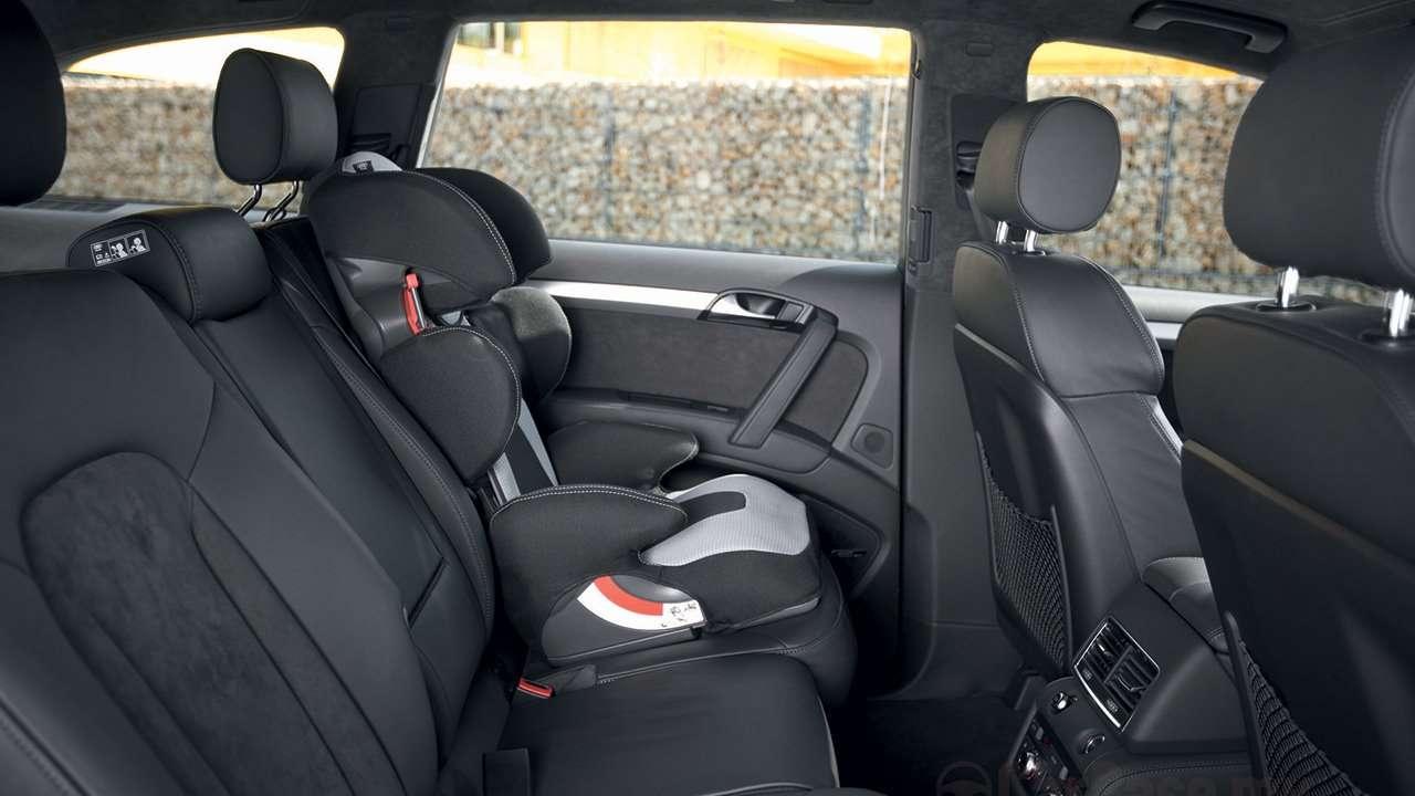 Audi Q7 (2007-2015) задние кресла