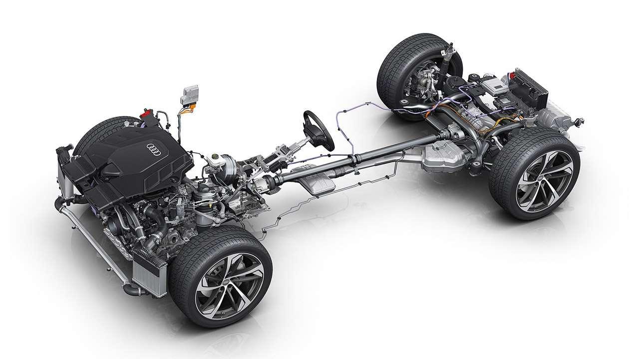 Техническая часть Audi Q7 2020-2021