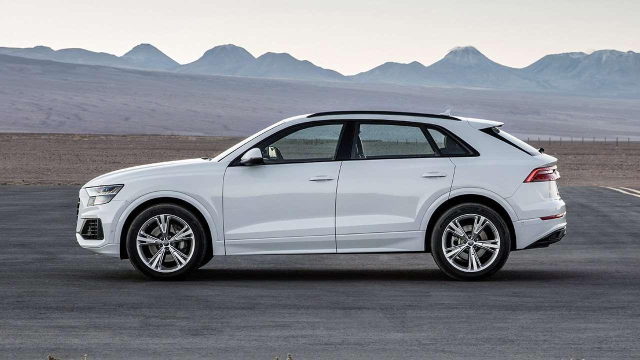 Боковая часть Audi Q8 2020-2021