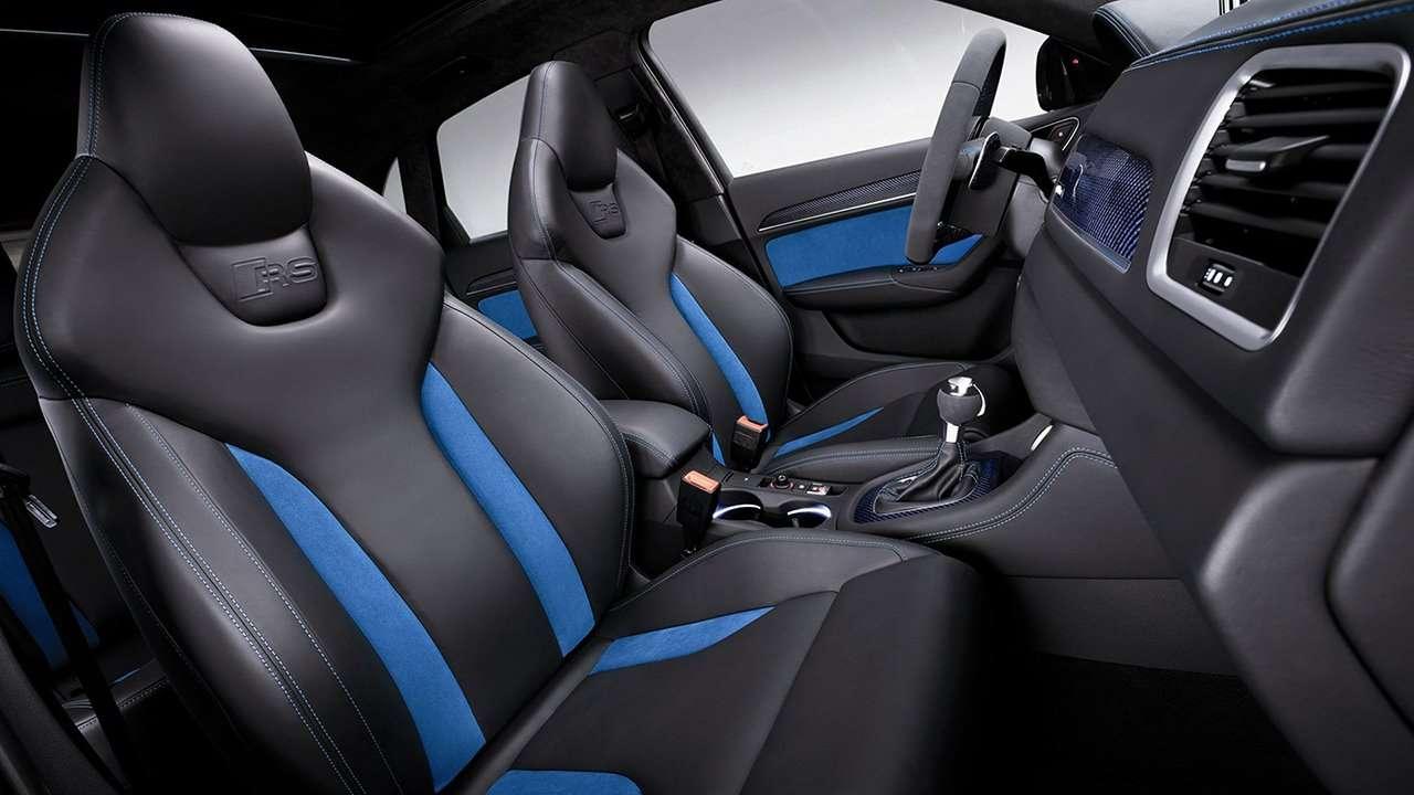 Сиденья Audi RS Q3 8U