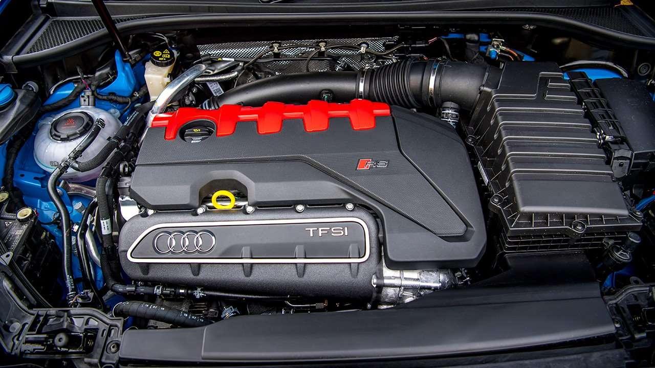 Фото двигателя Ауди РС Ку3